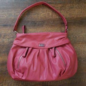 Elle Pink/Mauve Hobo Bag Shoulder Purse